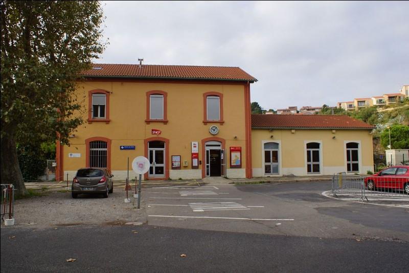 Quels trains passent uniquement à la gare de Collioure ?
