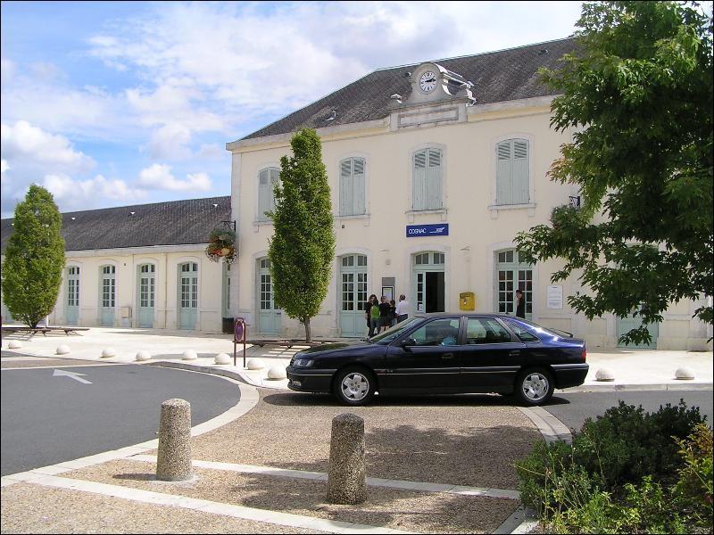 Dans quelle région la gare de Cognac est-elle située ?