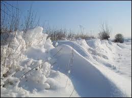 """N : Neige en Sibérie, une neige """"étrange"""" tombe sur cette région. Pourquoi est-elle étrange ?"""