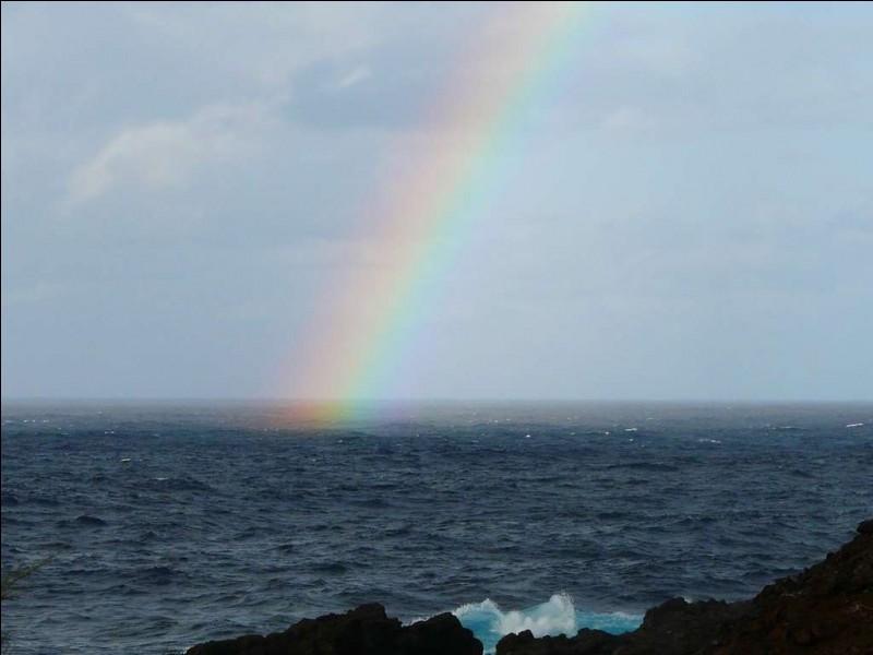 A : Arc-en-ciel : l'arc-en-ciel est composé de combien de couleurs ?