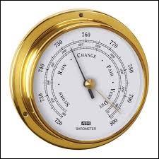 B : Baromètre : que mesure un baromètre ?