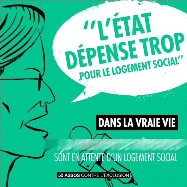 Si l'Etat français dépense trop dans le logement social, combien de gens en attendent-ils un ?