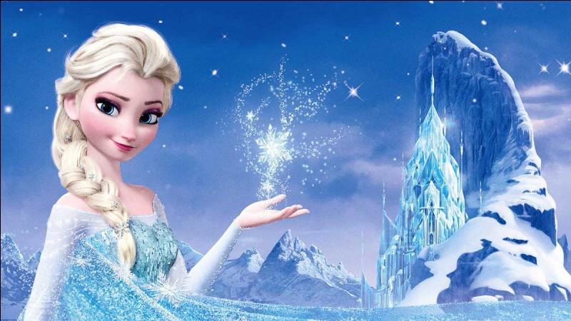 Dans quel dessin animé apparaît Elsa ?
