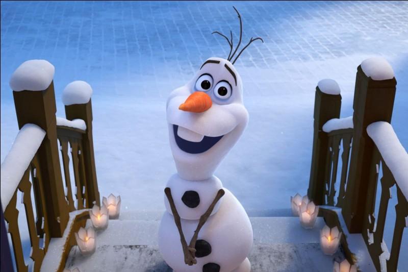 Dans quel dessin animé rencontre-t-on Olaf ?