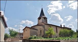 Vous avez sur cette image l'église Notre-Dame d'Urbise. Village Ligérien, il se situe en région ...