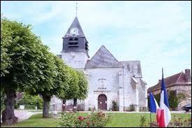 Nous sommes maintenant devant l'église Saint-Sébastien-et-Sainte-Croix de Villemoiron-en-Othe. Village Aubois, il se situe dans l'ancienne région ...