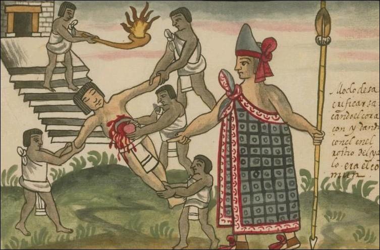 Quelle appellation les Aztèques donnaient-ils au sang humain ?