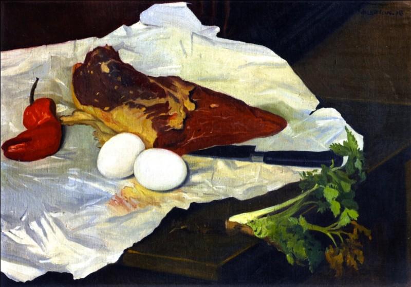 """Qui a peint """"La Viande et les œufs"""" ?"""