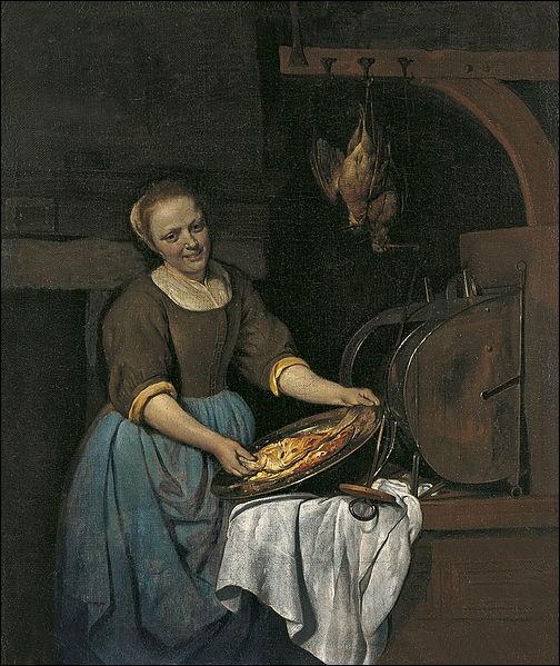"""Qui a fait le portrait de """"La Cuisinière"""" ?"""