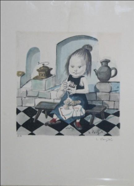 """De qui est cette œuvre intitulée """"La Petite Cuisinière"""" ?"""