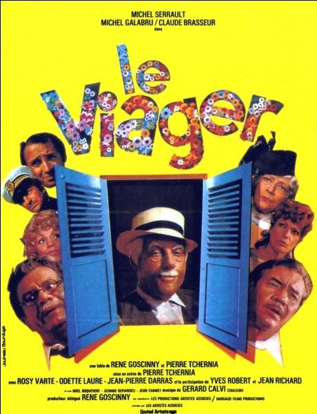 """Quel acteur joue le rôle de Louis Martinet dans le film """"Le Viager"""" ?"""