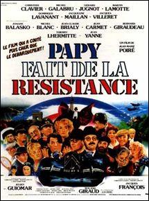 """Dans le film """"Papy fait de la résistance"""", quel est le prénom du Général Spontz joué par Roland Giraud ?"""