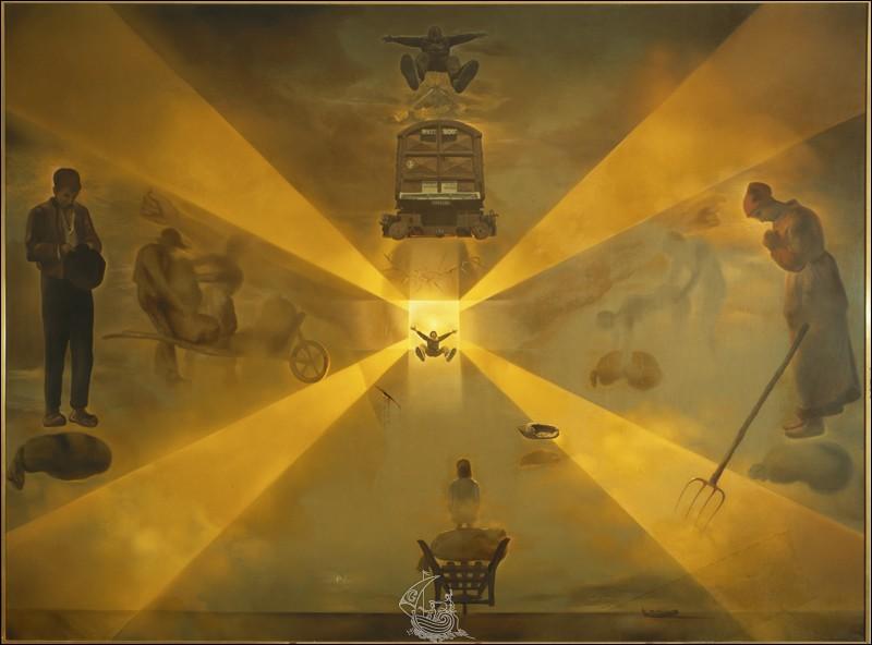 """À quel peintre ce tableau """"La Gare de Perpignan"""" appartient-il ?"""