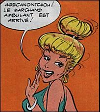 Dans les albums d'Uderzo et Goscinny, quel est le prénom de madame Agécanonix ?