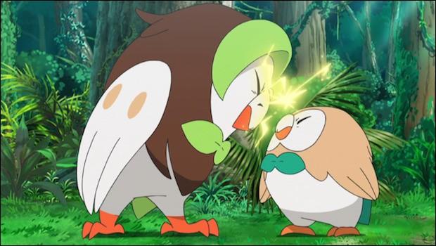 """""""Efflèche et Brindibou"""" sont des Pokémon type poison."""