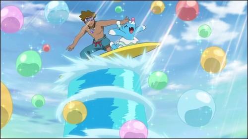 """""""Otarlette"""" est un Pokémon type eau."""