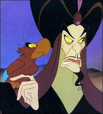 Quel est le nom du grand et méchant vizir, ennemi numéro 1 d'Aladdin ?
