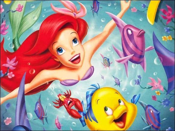 Dans 'La petite sirène', quel est le nom du poisson, meilleur ami d'Ariel ?