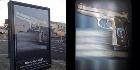 Il vous suffira de retrouver l'accroche de cette affiche... Pour être rassuré ?