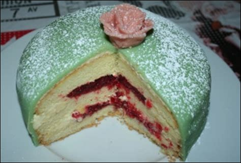 De quel pays le gâteau princesse est-il une spécialité ?