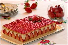 Quel est l'ingrédient principal d'un fraisier ?