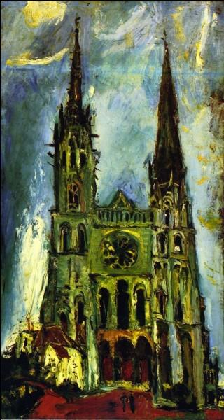 """Quel artiste est l'auteur, en 1933, de cette """"Cathédrale de Chartres"""" ?"""