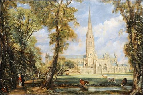 Quelle est cette cathédrale anglaise peinte par John Constable ?