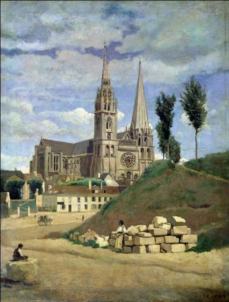 Quelle est cette cathédrale peinte par Corot ?