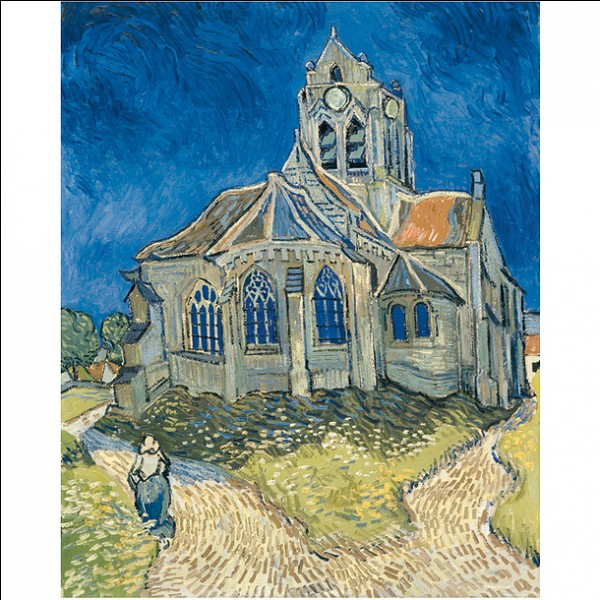 """Qui est l'auteur de """"l'église d'Auvers sur Oise"""" ?"""