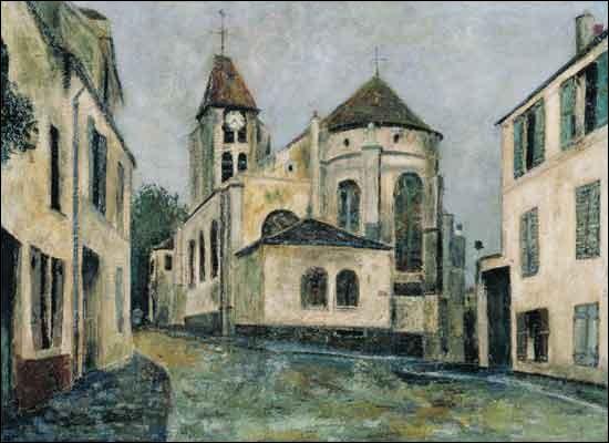 Tout près de là, l'église de Groslay a inspiré ...