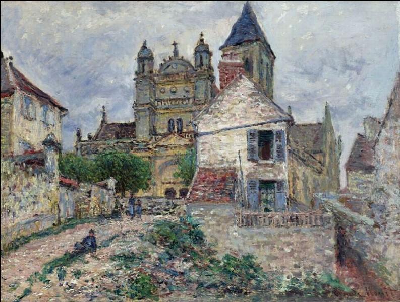 """Restons en Ile de France, dans la vallée de la Seine : qui a peint """"l'église de Vétheuil"""" ?"""