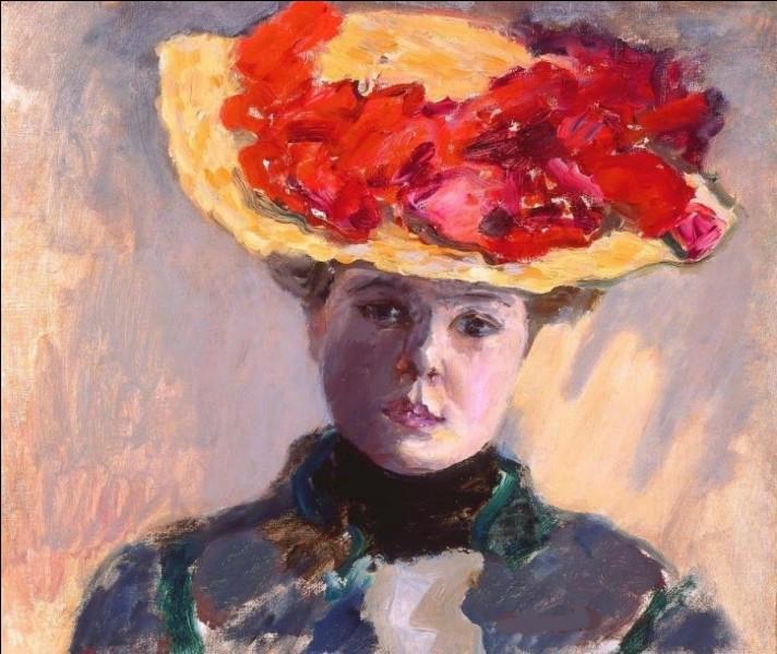 """À qui doit-on cette """"Femme au chapeau rouge"""" ?"""