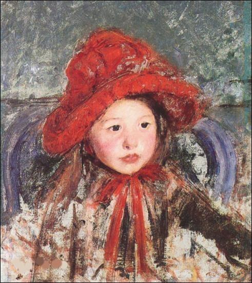 """Qui a représenté cette """"Petite fille au chapeau rouge"""" ?"""