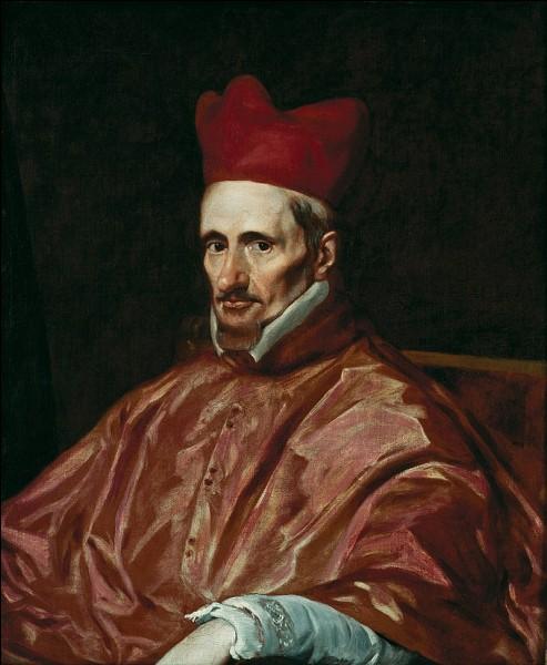 Qui a peint le cardinal Borja coiffé de sa calotte rouge ?