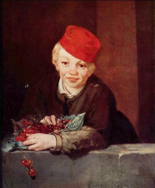 """Quel peintre a nommé sa toile """"L'Enfant aux cerises"""" ?"""