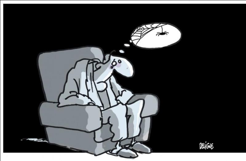 Triste, déprimé :