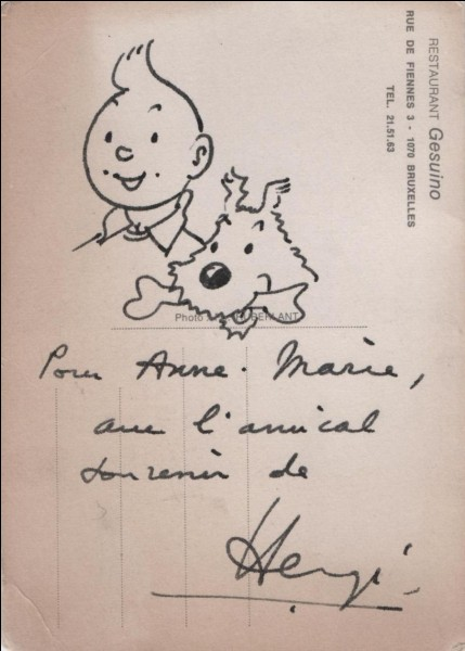 Quel est le titre du premier album des aventures de Tintin ?