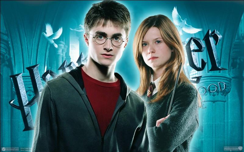 """Hinny. Formant un des plus célèbres couples de la saga littéraire """"Harry Potter"""", Harry et Ginny se mettent à sortir ensemble à partir du cinquième livre."""