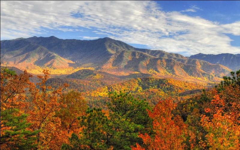 Parmi ces parcs nationaux américains, lequel se situe dans le massif montagneux des Appalaches ?