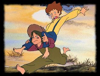 Dans ce dessin animé Tom Sawyer n'aime pas ?