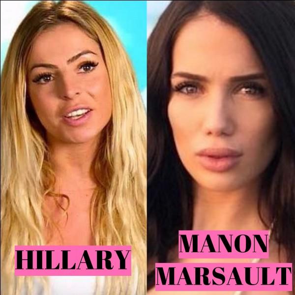 Laquelle de ces 2 candidates est une conquête de Kevin ?