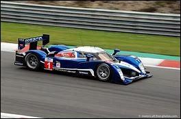 La 908 HDI FAP a couru aux 24 Heures du Mans pour Porsche.