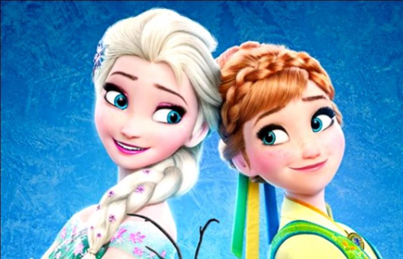 Avec qui Elsa et Anna sont-elles cousines ?