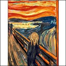 """Le tableau """"Le Cri"""" a été peint par Edvard Munch."""