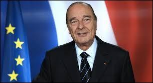 Jacques Chirac est devenu le cinquième président de la Ve République en 1995.