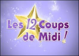"""Jean-Luc Reichmann présente """"Les 12 Coups de midi"""" sur TF1."""