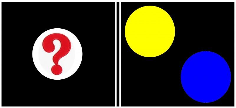 """Domino """"Mélange des couleurs"""". Quel est votre choix ?"""