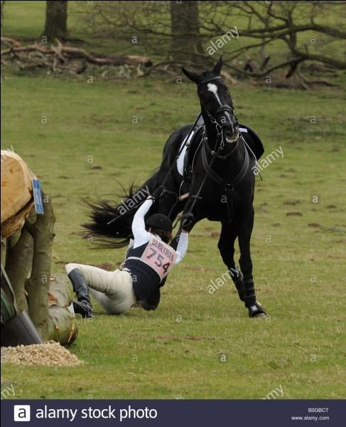 Si tu tombes de ton cheval :