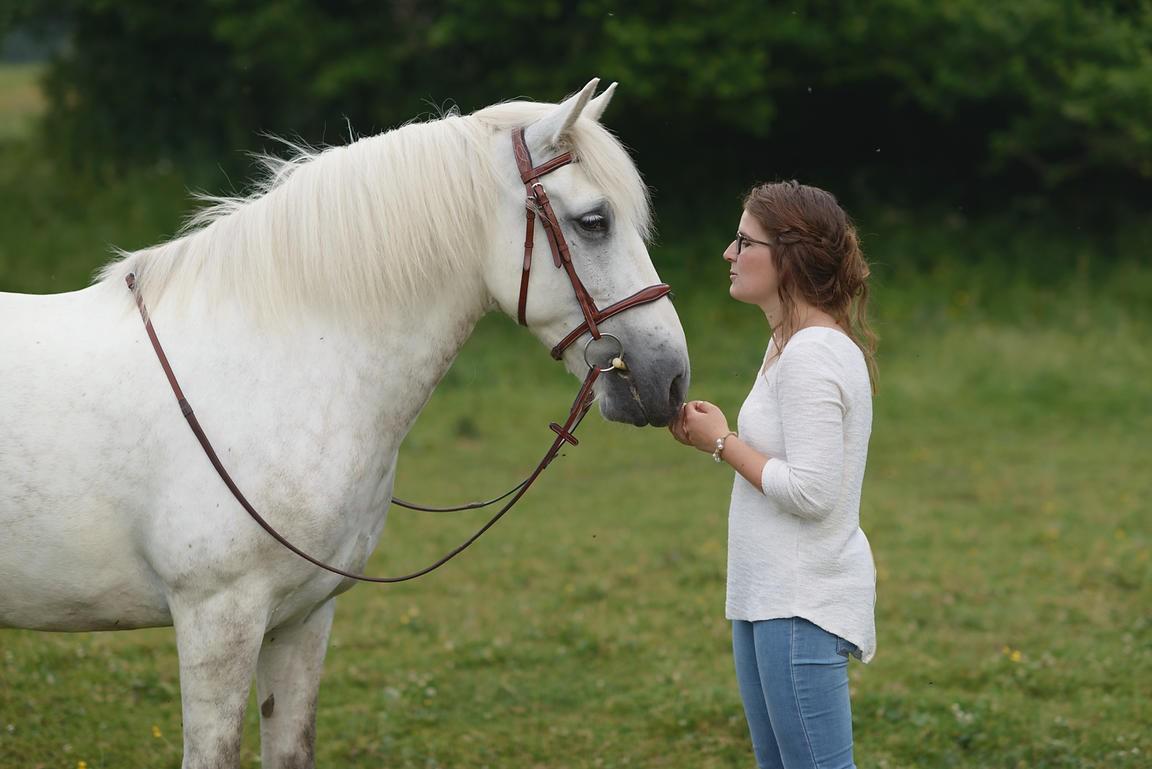 À cheval, es-tu plutôt stressée ou relaxée ?