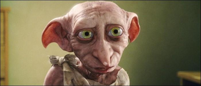 """Quel elfe de maison apparaît dans """"Harry Potter et la Chambre des secrets"""" ?"""